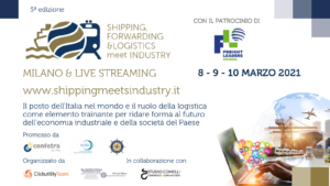 Shipping, Forwarding&Logistics meet Industry @ Evento Online